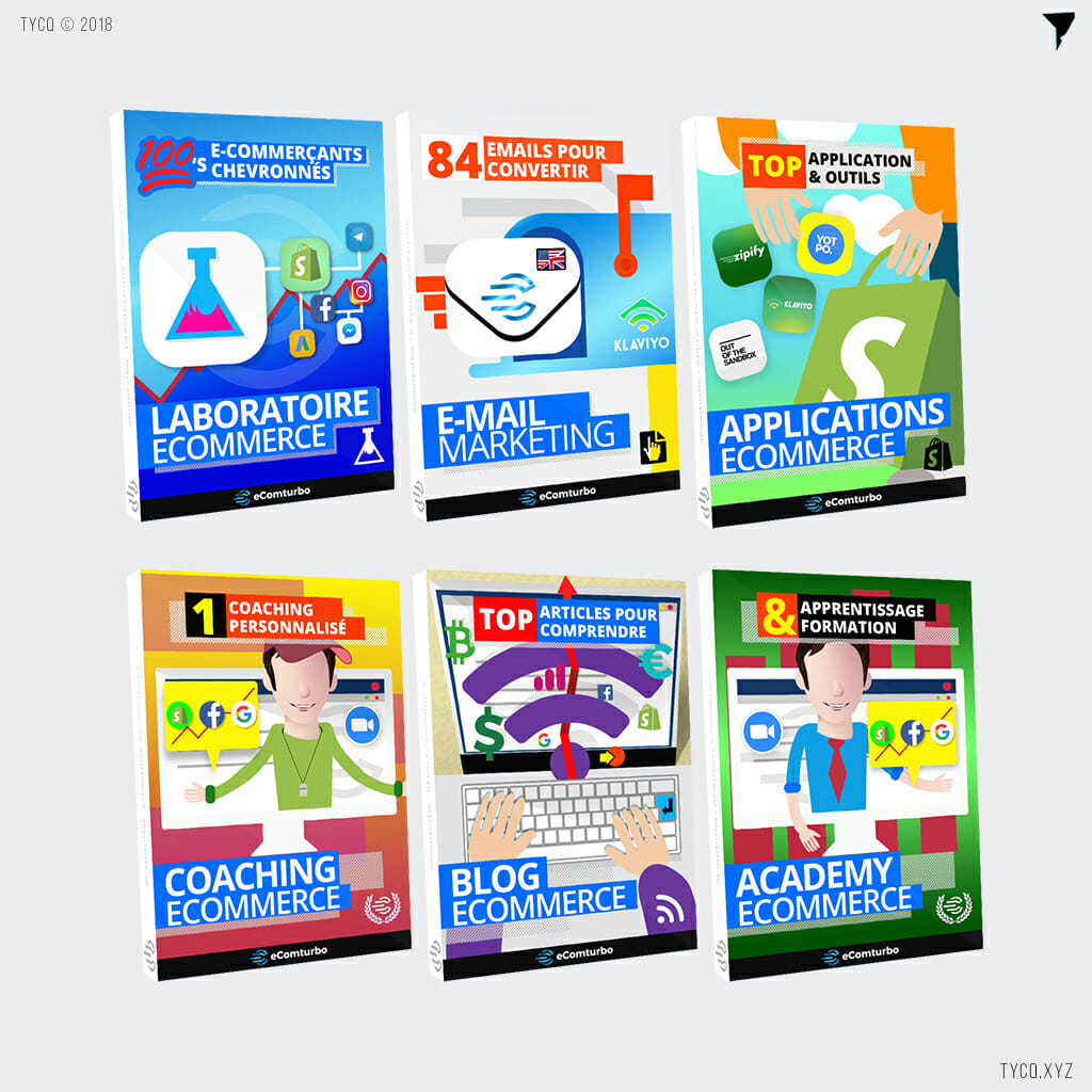 ecomturbo commence product cover designs