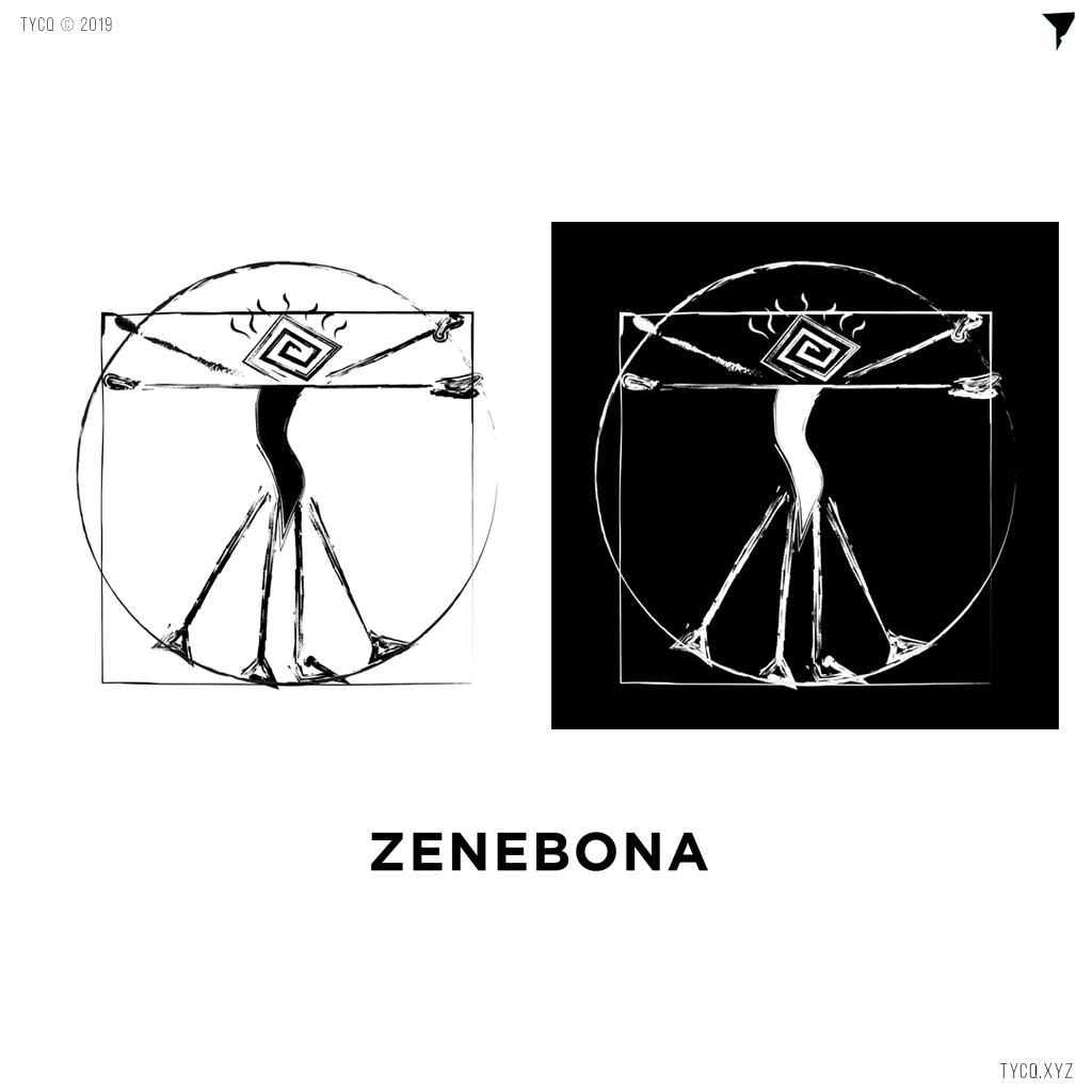 zenebona-record-label-logo-graphic-design-tycq