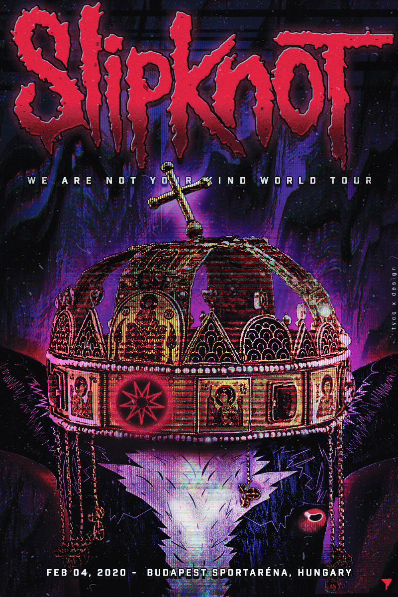 Slipknot We Are Not Your Kind World Tour - Live in Budapest